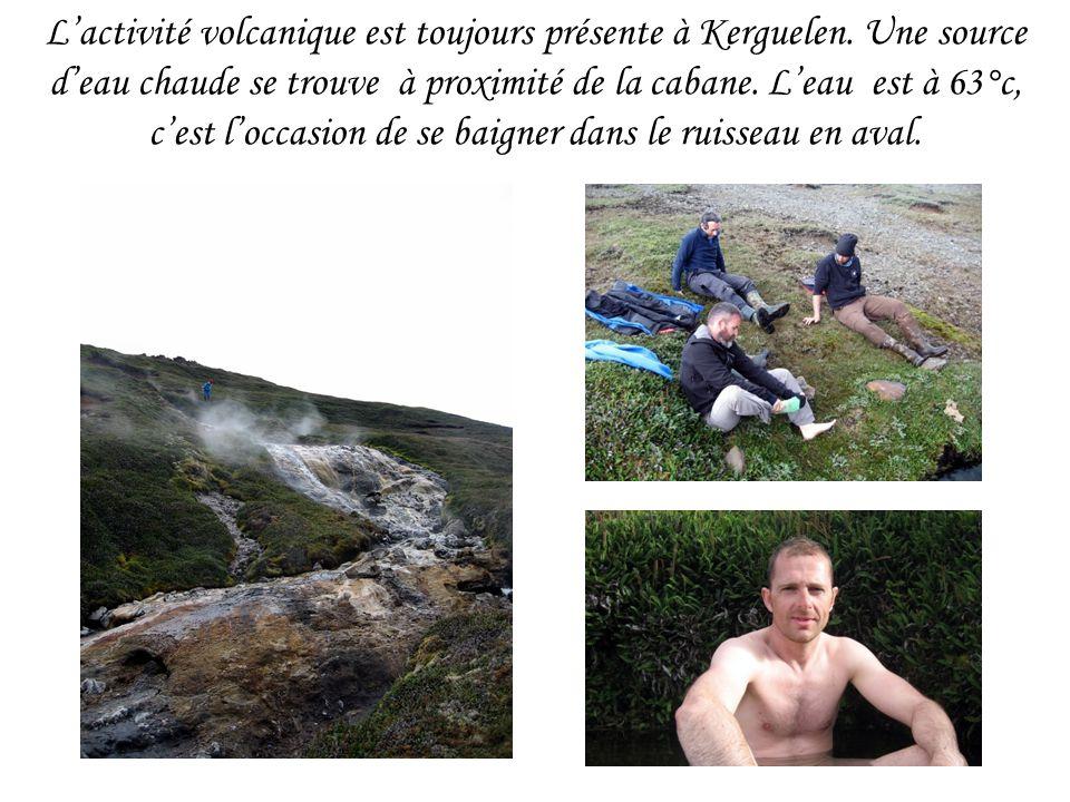 L'activité volcanique est toujours présente à Kerguelen