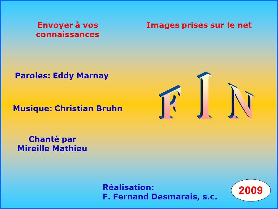 Envoyer à vos connaissances Chanté par Mireille Mathieu