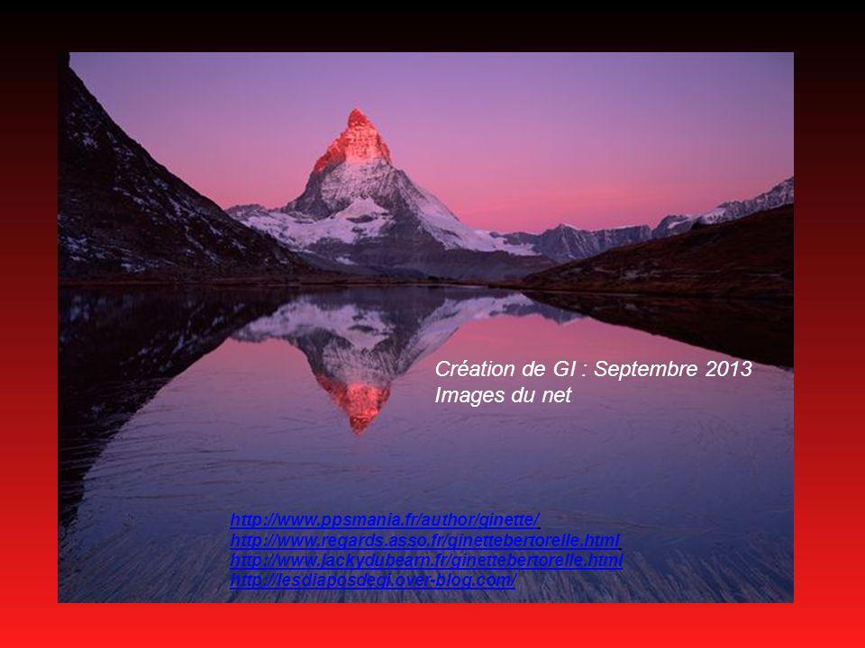 Création de GI : Septembre 2013 Images du net