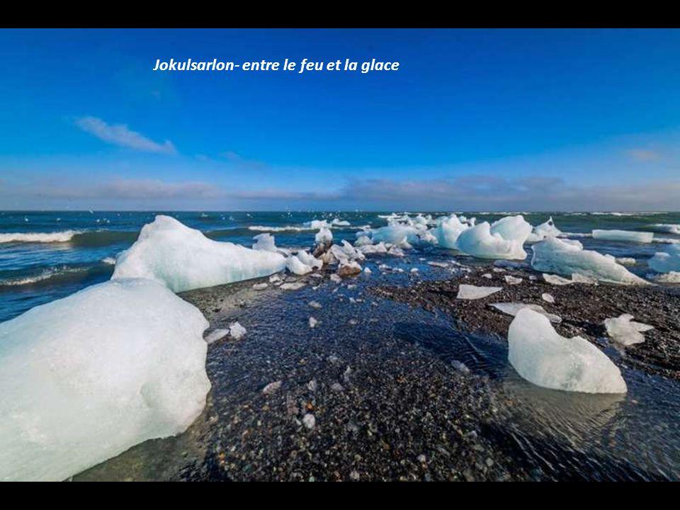Jokulsarlon- entre le feu et la glace
