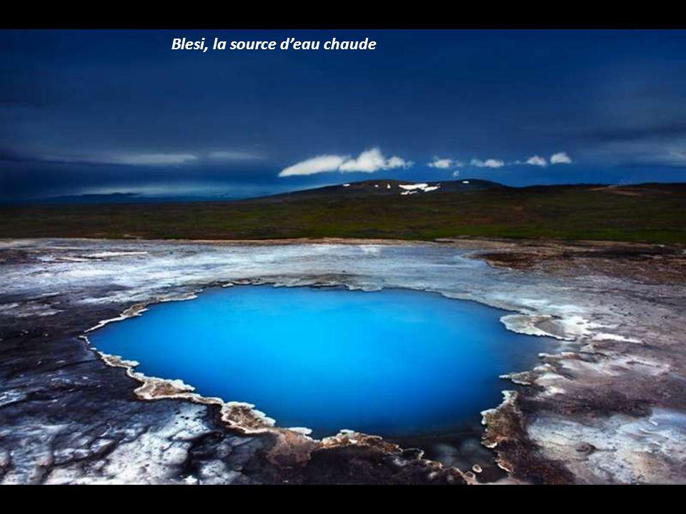 Blesi, la source d'eau chaude