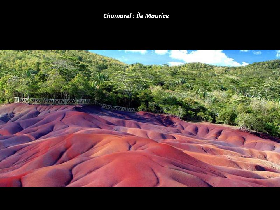 Chamarel : Île Maurice
