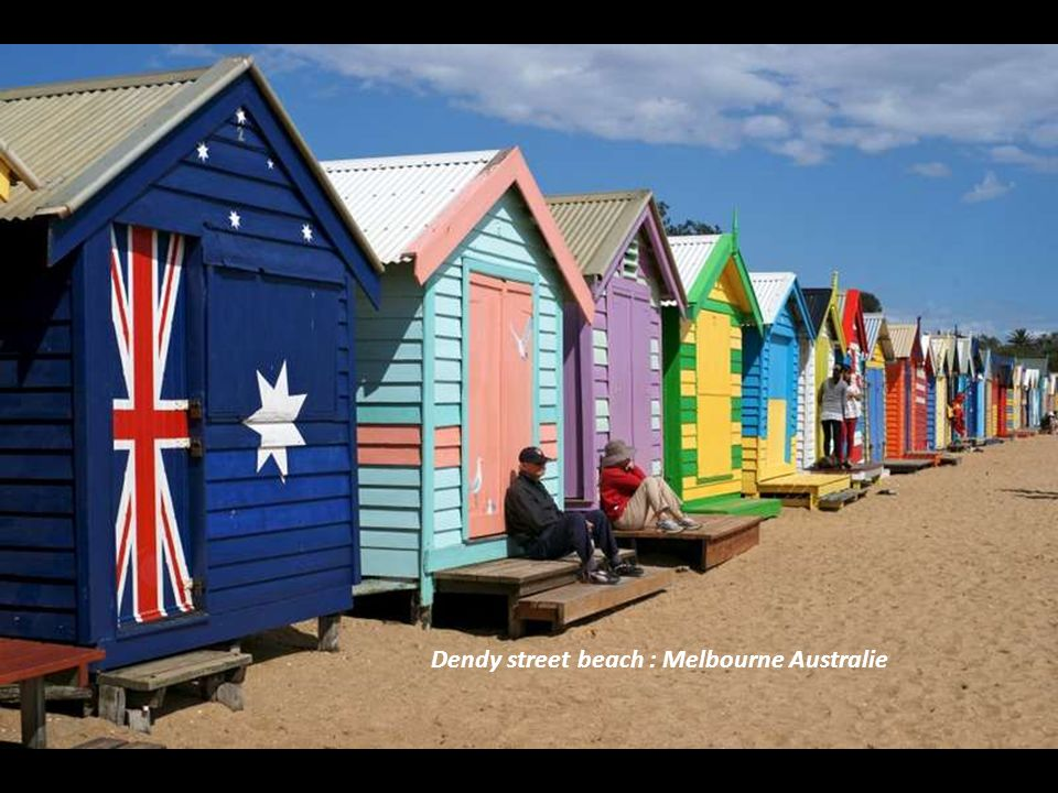 Dendy street beach : Melbourne Australie