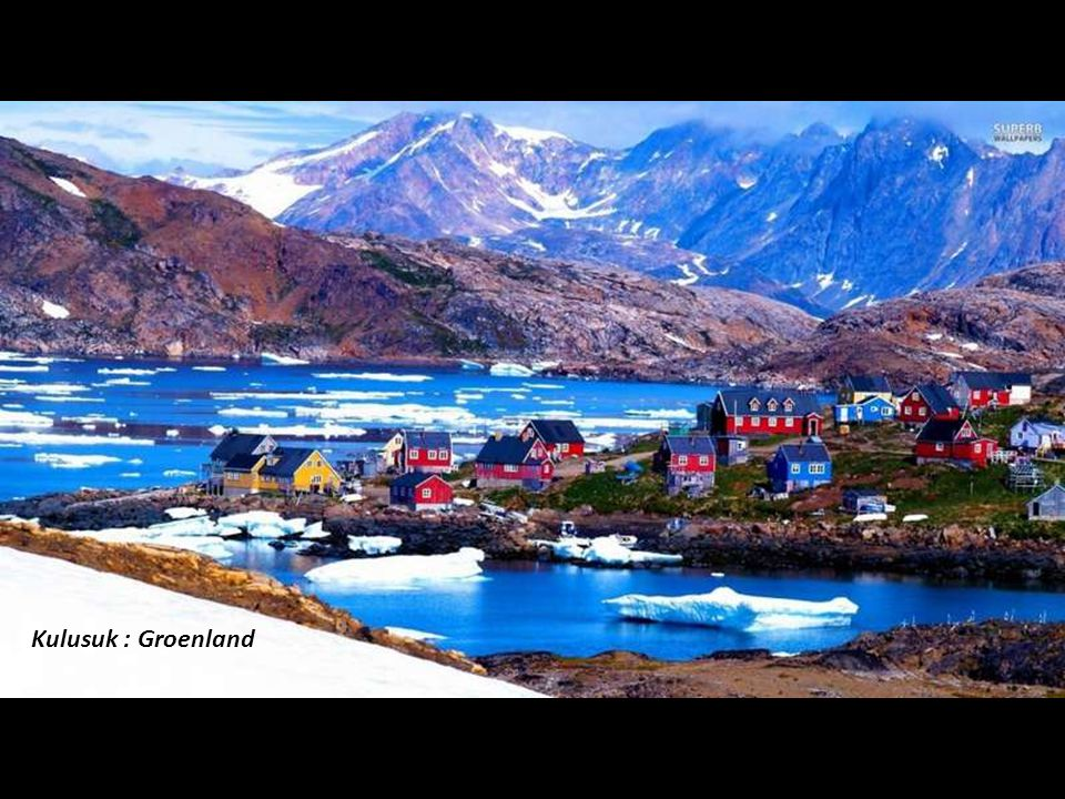 Kulusuk : Groenland