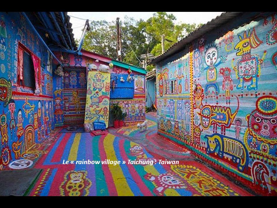 Le « rainbow village » Taichung : Taiwan