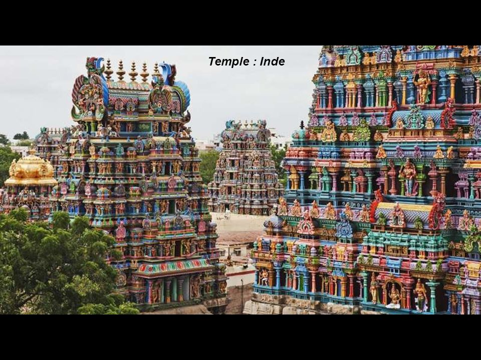 Temple : Inde