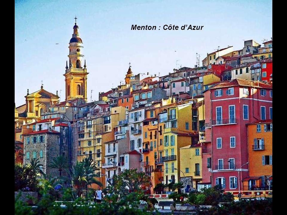Menton : Côte d'Azur