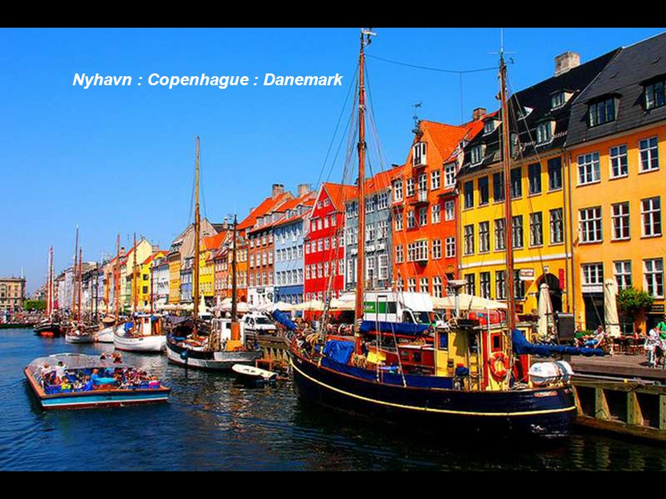 Nyhavn : Copenhague : Danemark