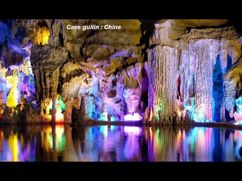 Cave guilin : Chine