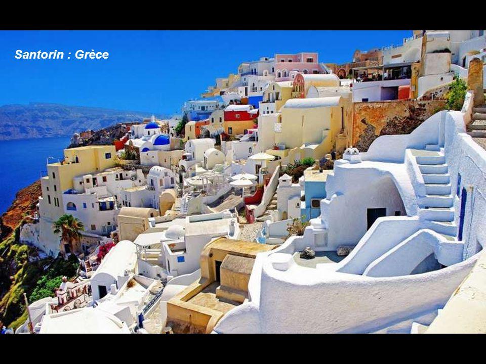 Santorin : Grèce