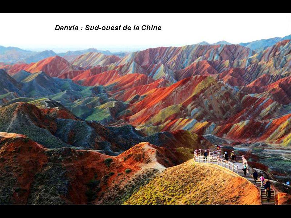 Danxia : Sud-ouest de la Chine