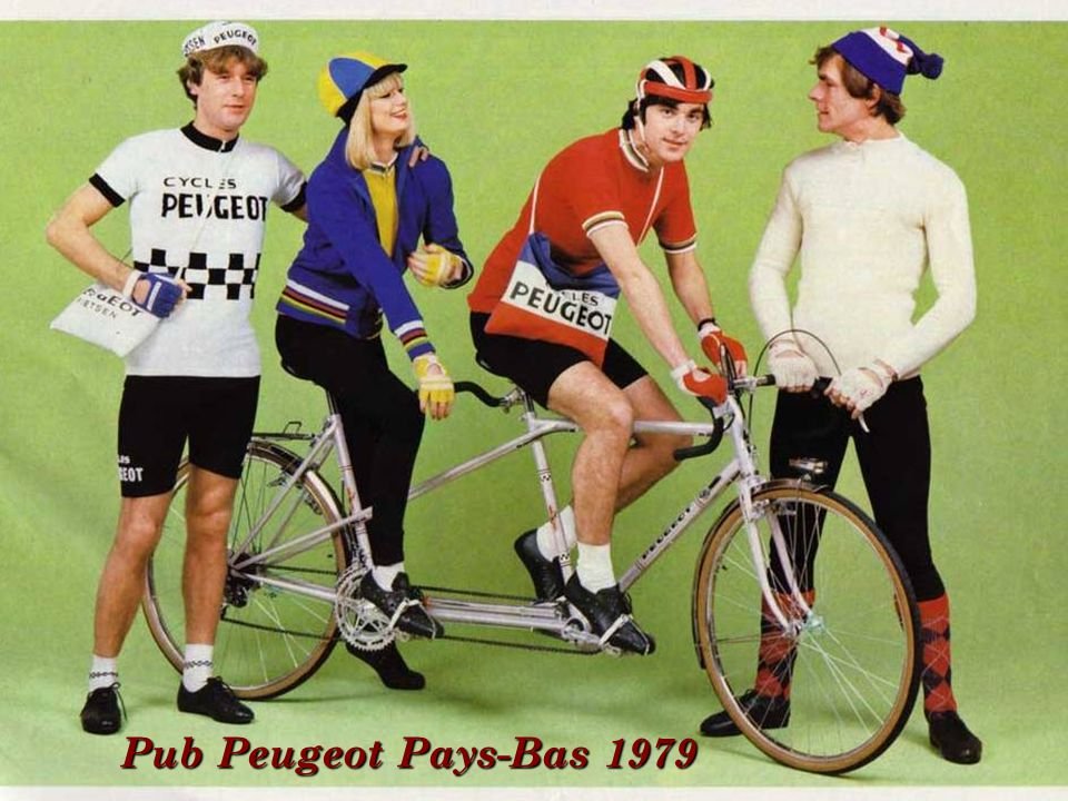 Pub Peugeot Pays-Bas 1979