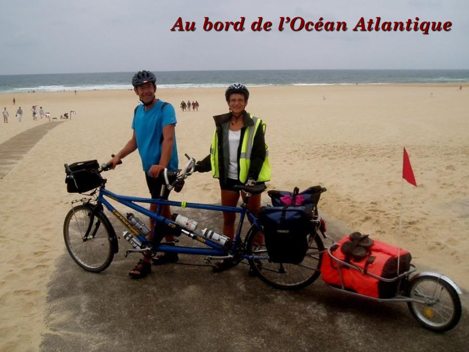 Au bord de l'Océan Atlantique