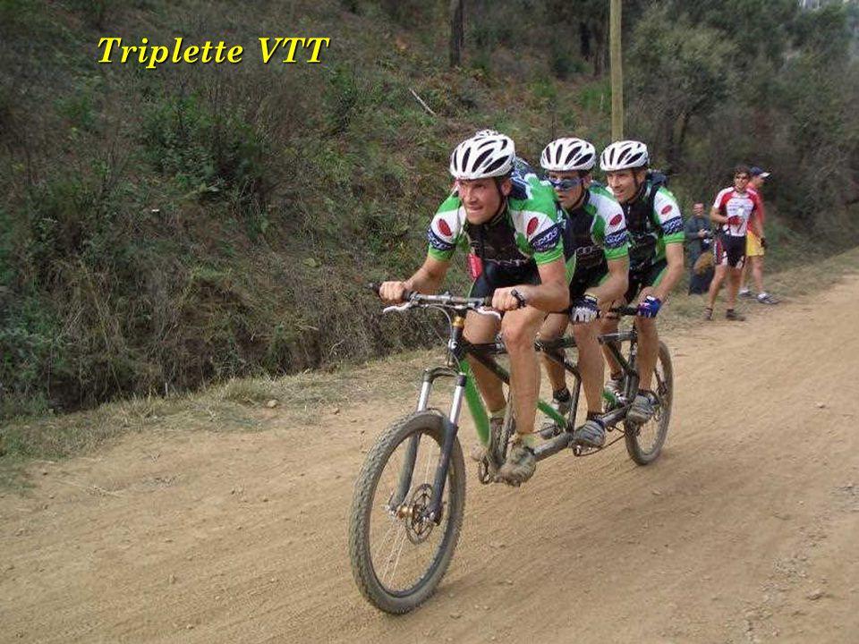 Triplette VTT