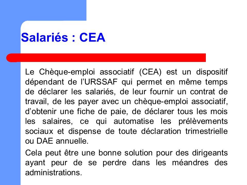 Salariés : CEA
