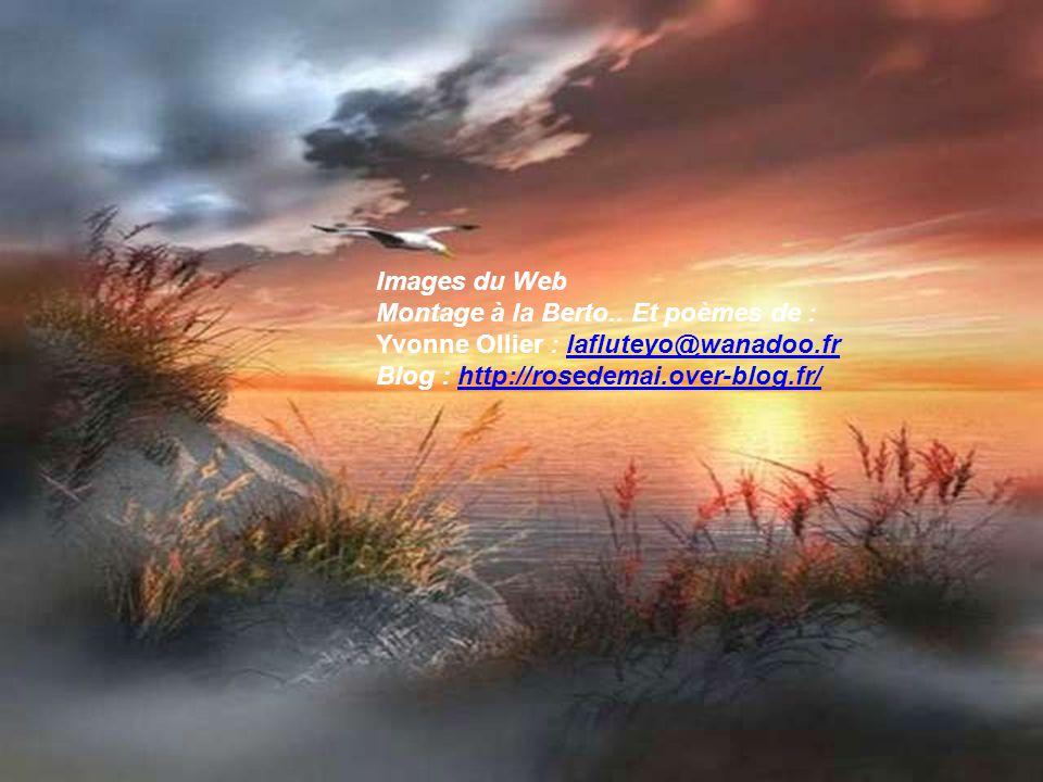 Images du Web Montage à la Berto.. Et poèmes de : Yvonne Ollier : lafluteyo@wanadoo.fr.