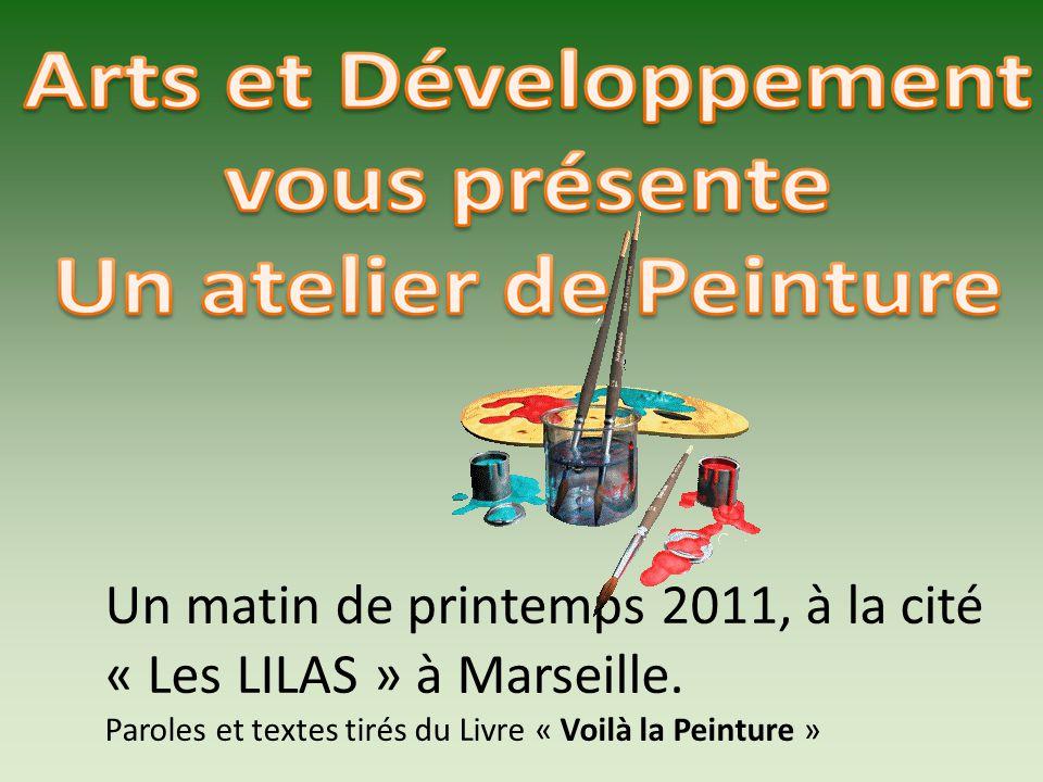 Un matin de printemps 2011, à la cité « Les LILAS » à Marseille.