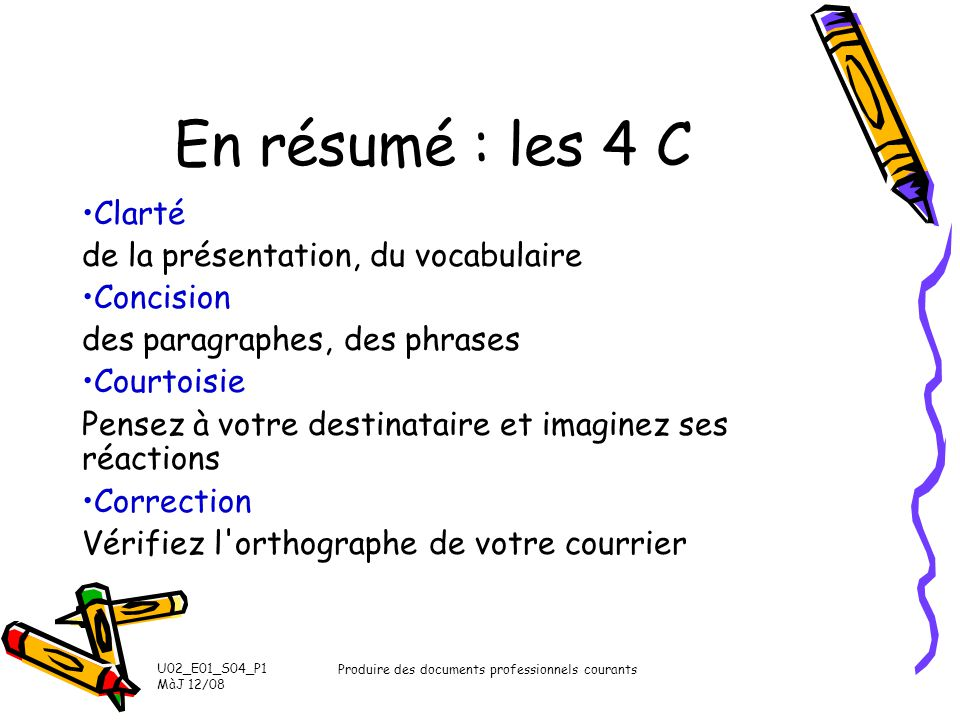 Produire des documents professionnels courants
