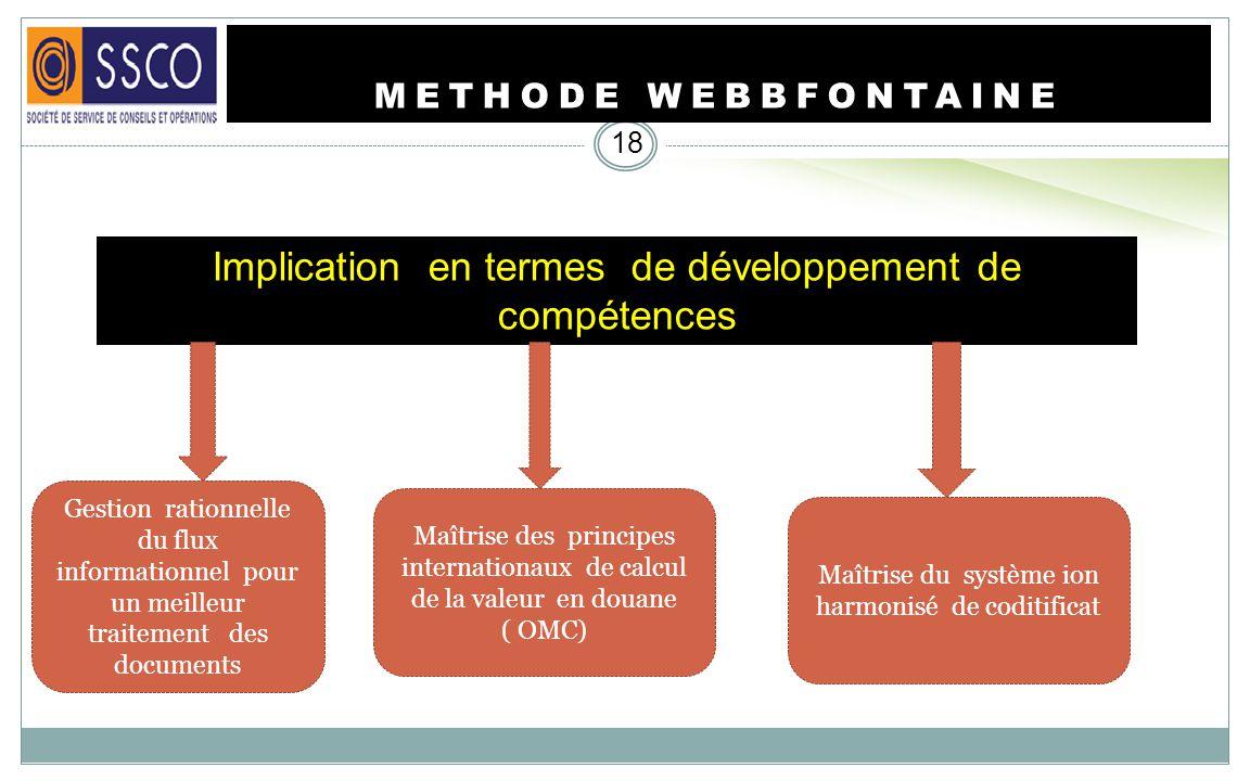 Implication en termes de développement de compétences