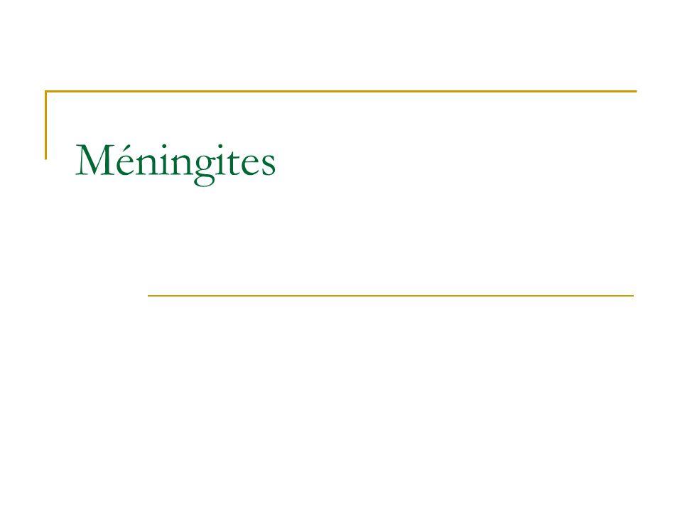 Méningites