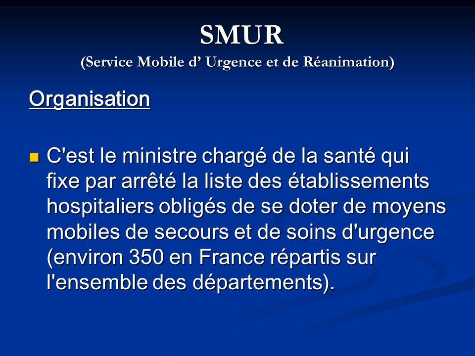 SMUR (Service Mobile d' Urgence et de Réanimation)