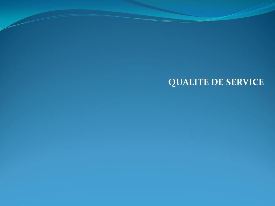 QUALITE DE SERVICE