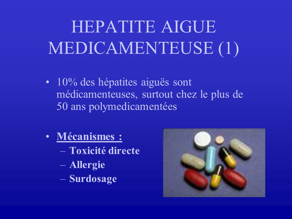 HEPATITE AIGUE MEDICAMENTEUSE (1)