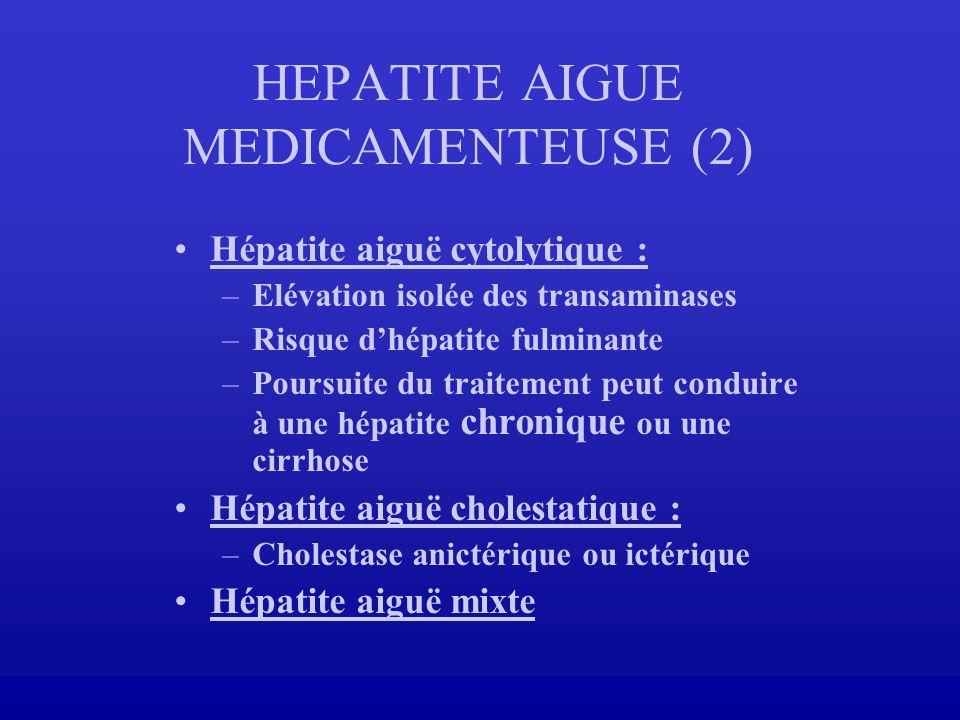 HEPATITE AIGUE MEDICAMENTEUSE (2)