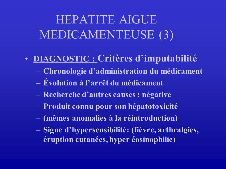 HEPATITE AIGUE MEDICAMENTEUSE (3)