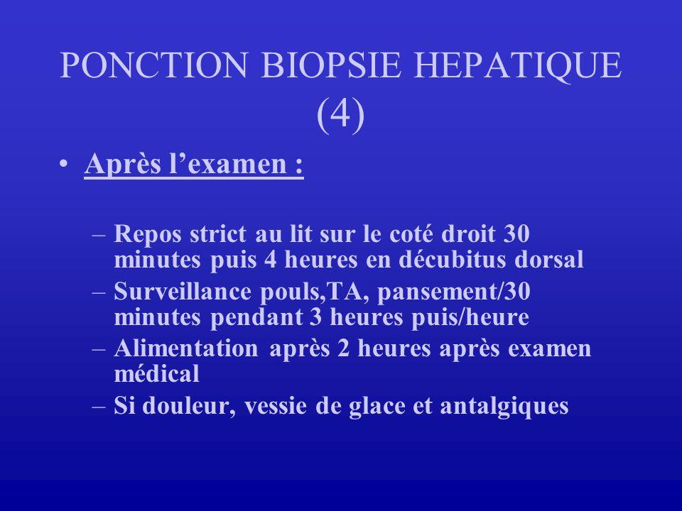 PONCTION BIOPSIE HEPATIQUE (4)