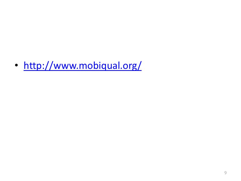 http://www.mobiqual.org/