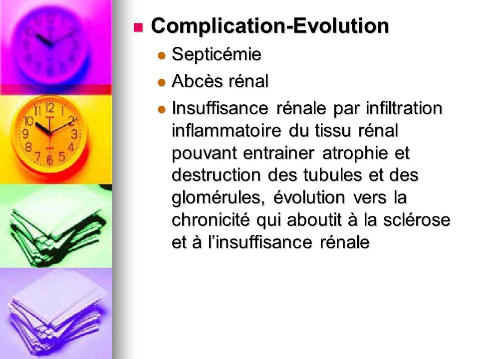 Complication-Evolution