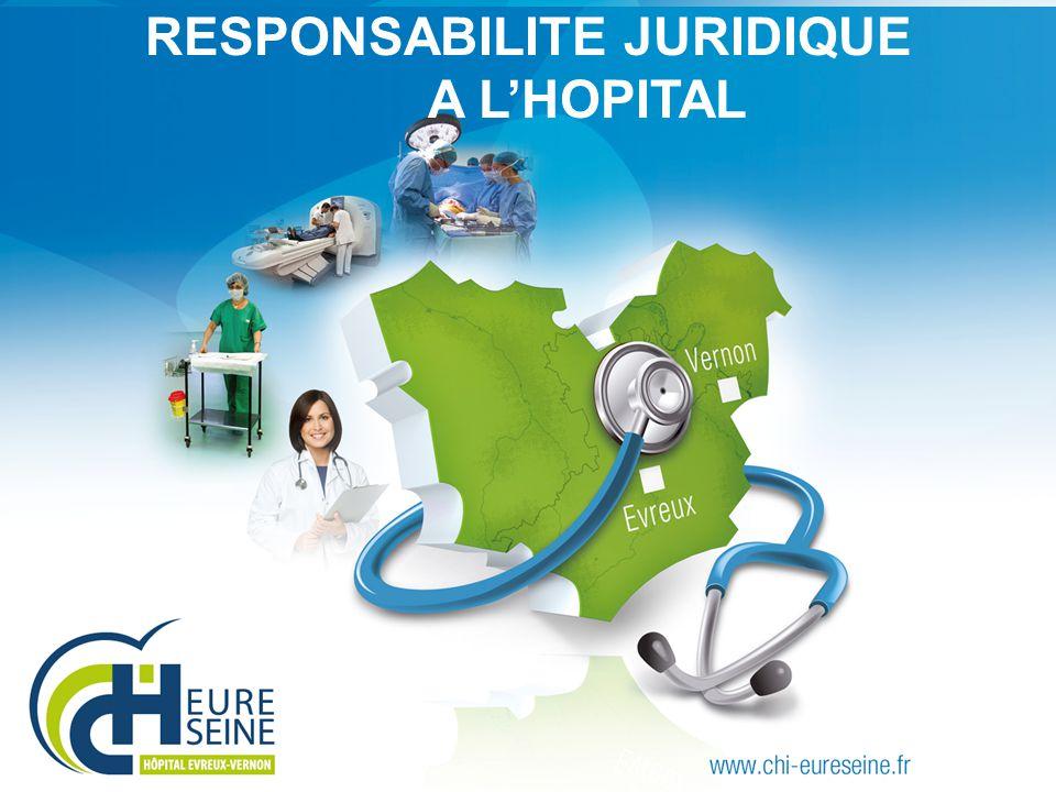 RESPONSABILITE JURIDIQUE A L'HOPITAL