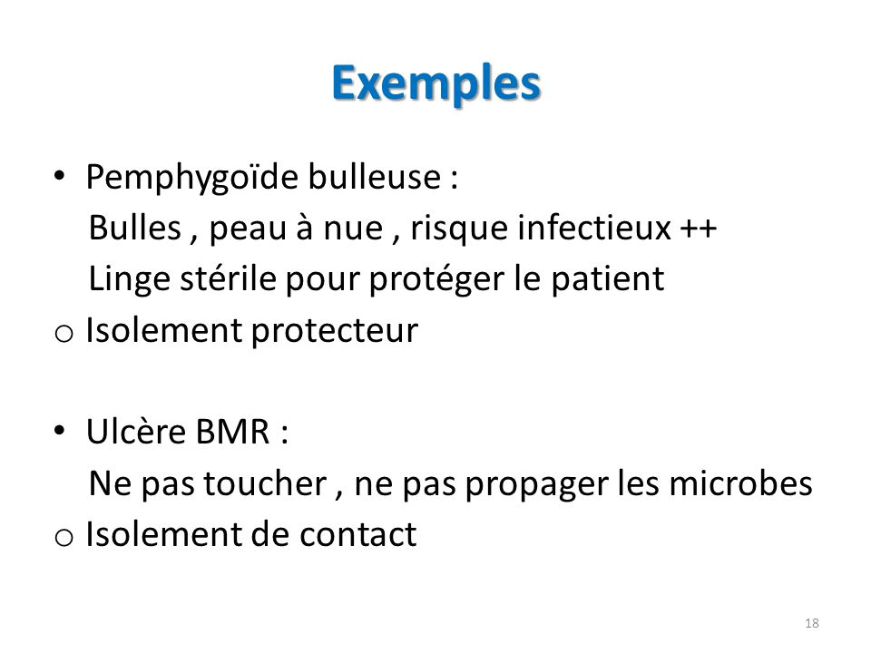 Exemples Pemphygoïde bulleuse :