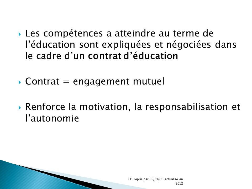 Contrat = engagement mutuel