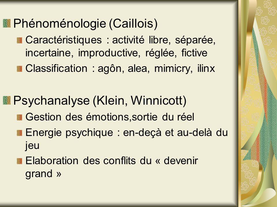 Phénoménologie (Caillois)