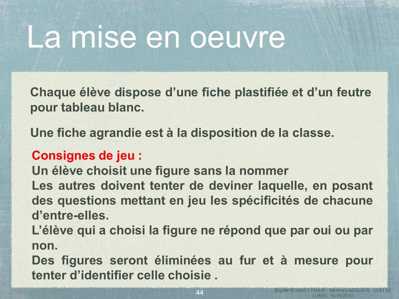 Brigitte BONNET PHILIP - Mirène LARGUIER GDM 34