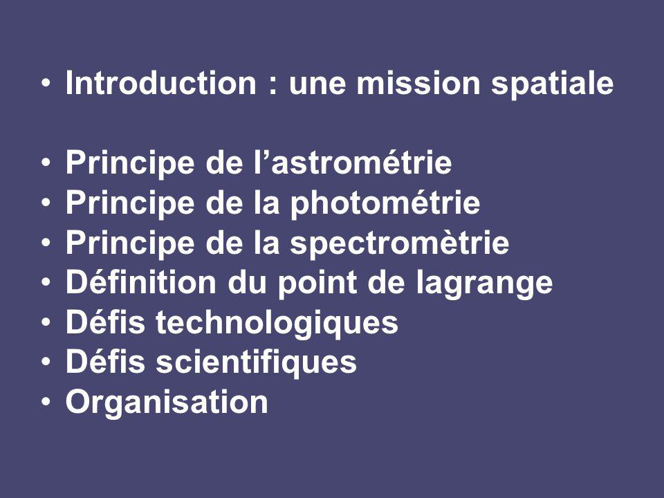 Introduction : une mission spatiale