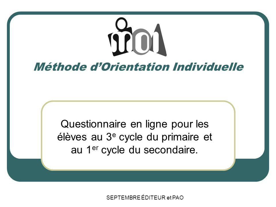 Méthode d'Orientation Individuelle