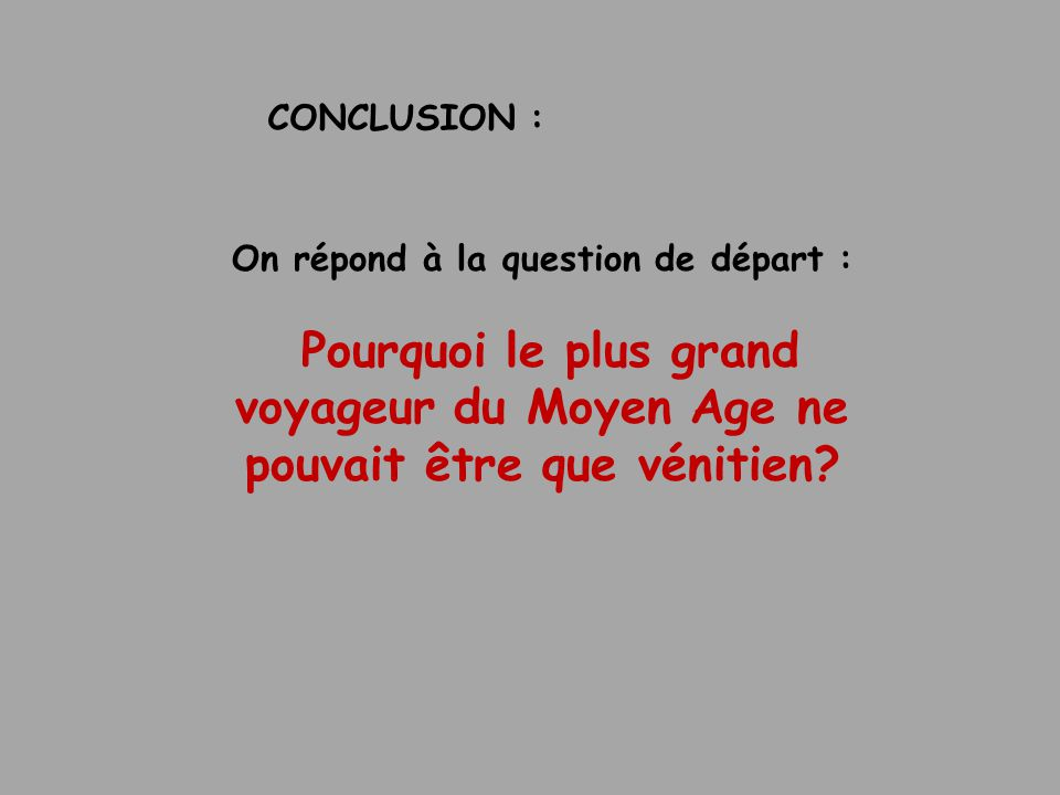 On répond à la question de départ :