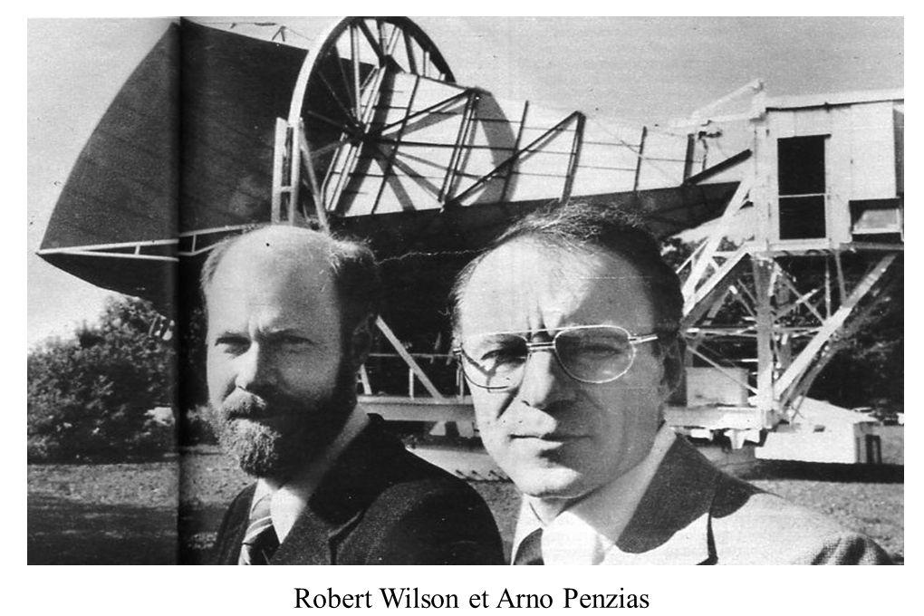 Robert Wilson et Arno Penzias