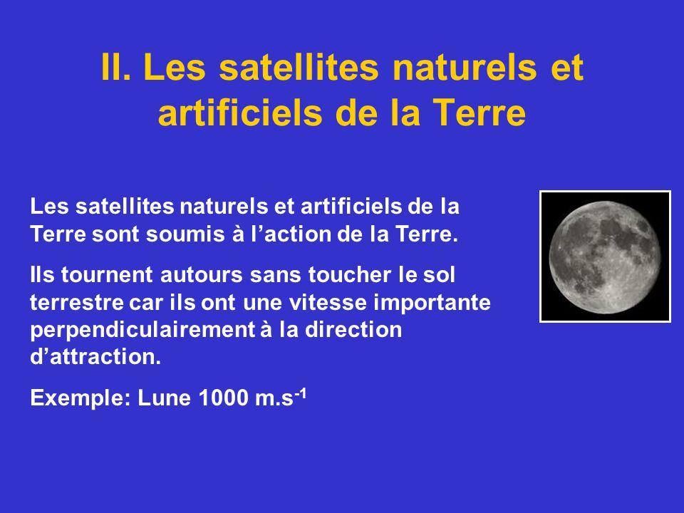 II. Les satellites naturels et artificiels de la Terre