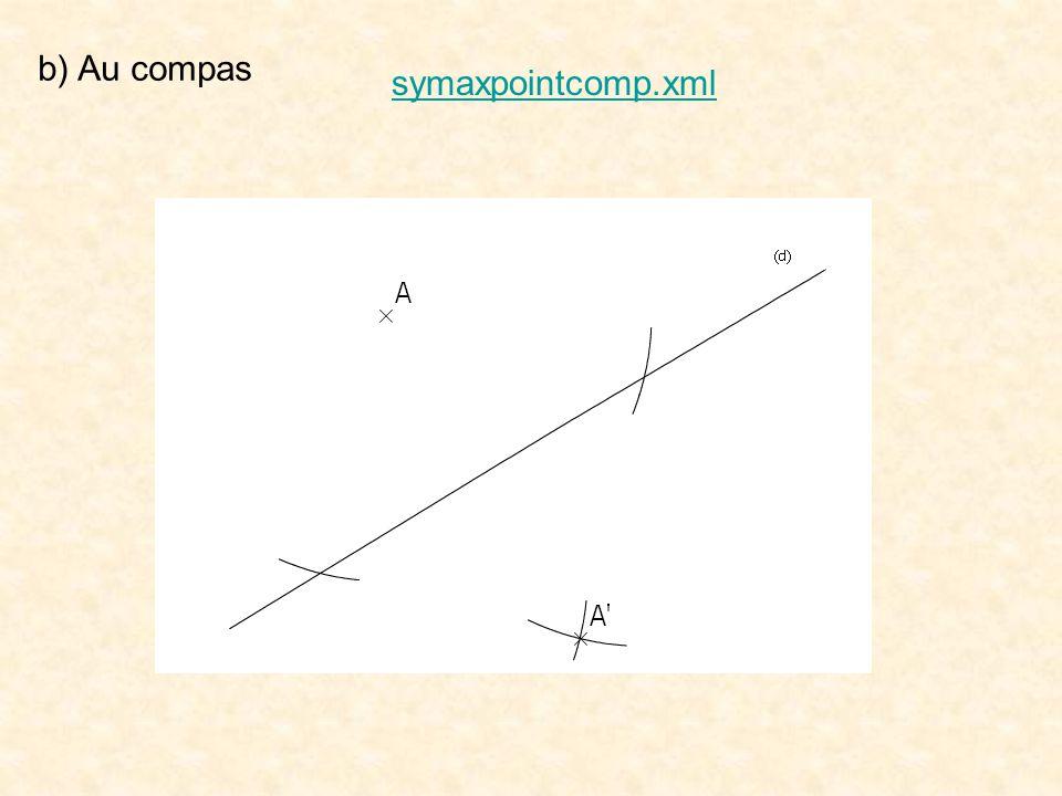 b) Au compas symaxpointcomp.xml