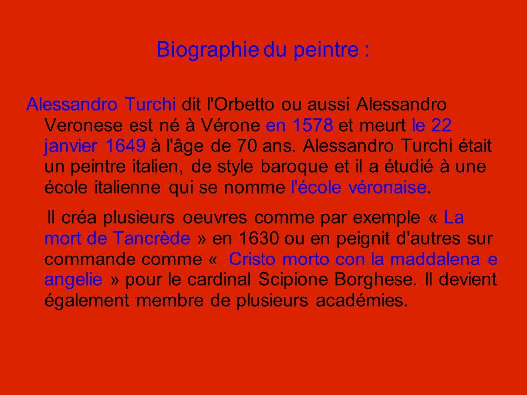 Biographie du peintre :