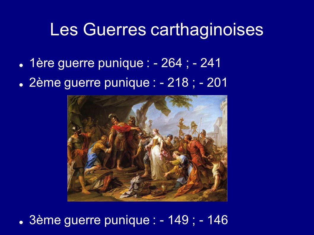 Les Guerres carthaginoises