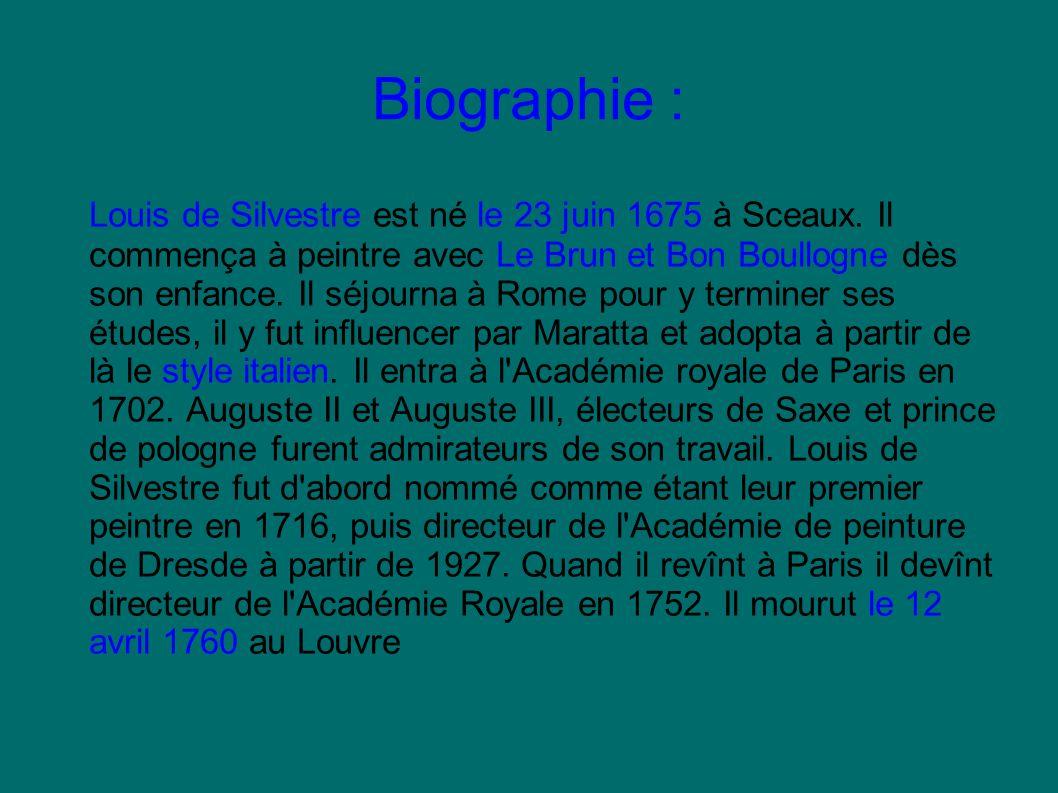 Biographie :
