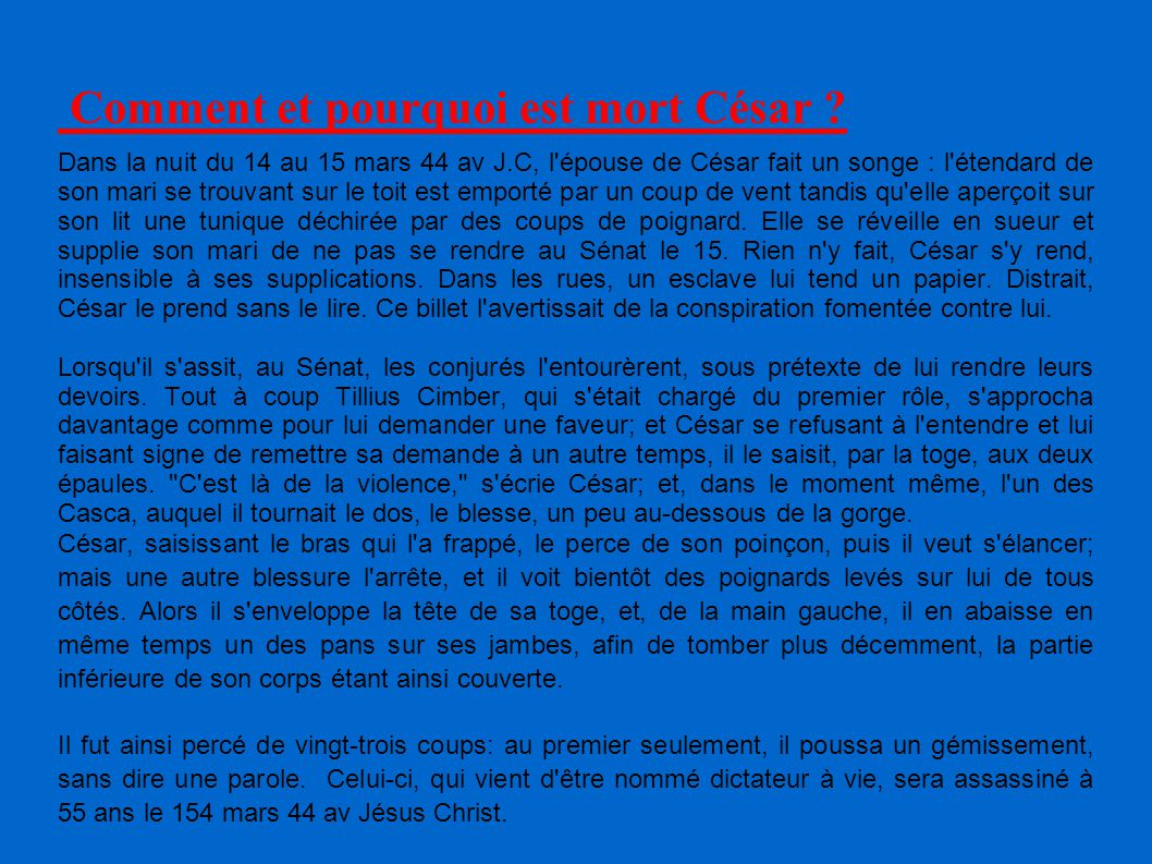 L 39 histoire romaine la r publique 509 27 ppt - Comment faire plaisir a mon mari au lit ...