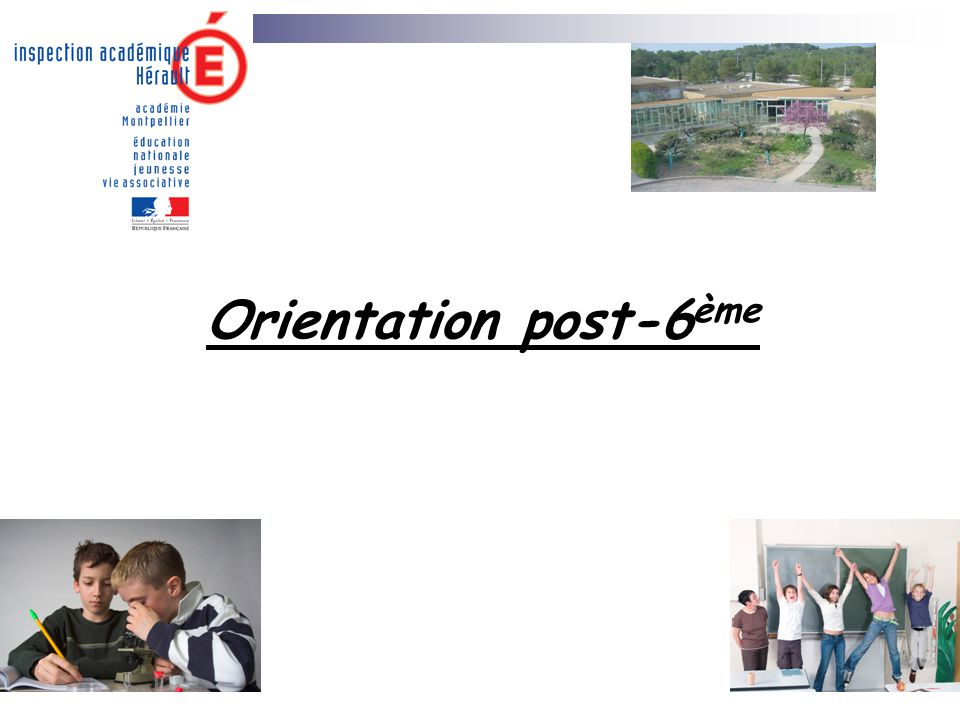 Orientation post-6ème