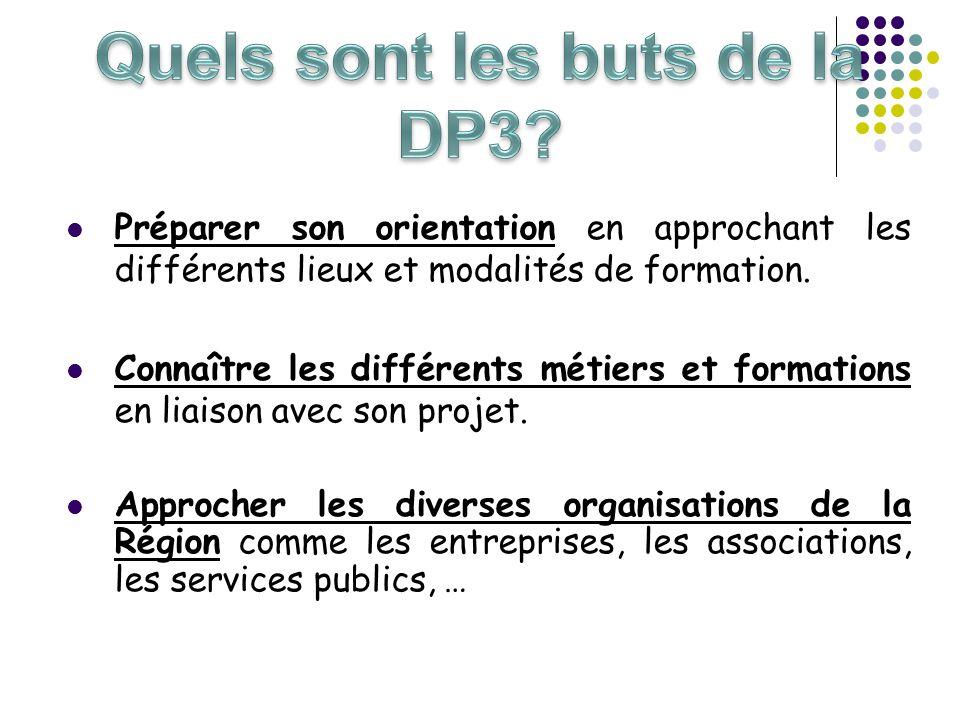 Quels sont les buts de la DP3