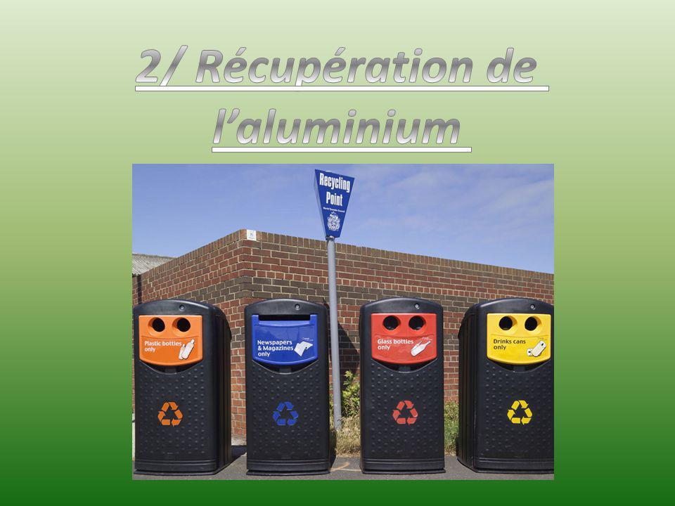 2/ Récupération de l'aluminium